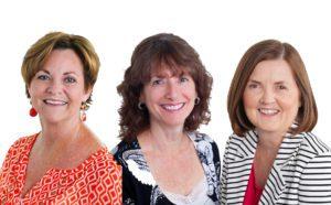 Maureen Ryan, Pat Voll, Kathy Ryan